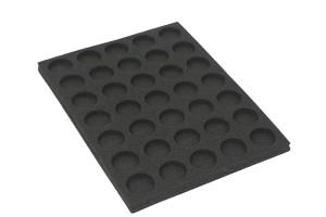 Foam tray for 32mm bases