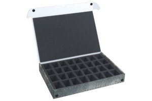 Standard Box for 32 miniatures on 40 mm bases