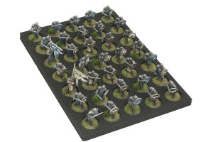 Tray for infantry miniatures (GOT)