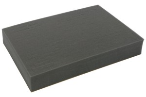 Full-size 60mm deep raster foam tray