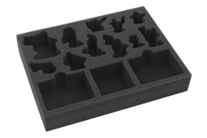 Foam tray for core-set box of WHU: Beastgrave