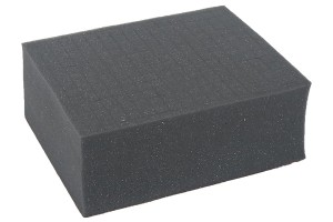 Half-sized raster foam 100 mm deep