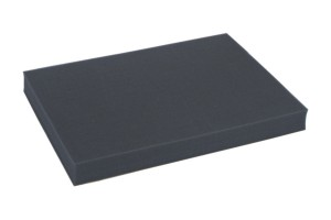 Full-size 40mm deep raster foam tray of inreased density