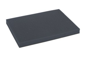 Full-size 32mm deep raster foam tray of inreased density
