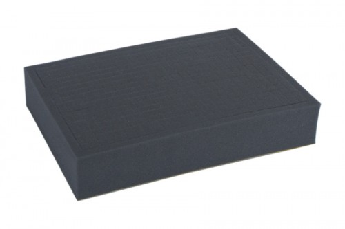 Full-size 32mm deep raster foam tray.