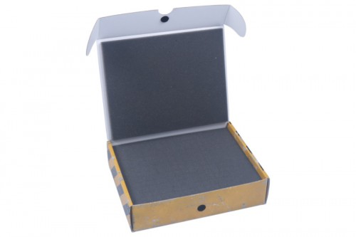 Half-size box with 50 mm raster foam tray.